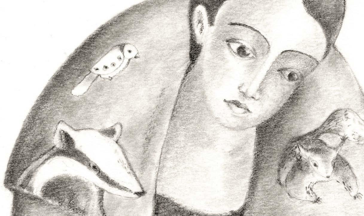 In diesem Workshop ergründen wir die geheimnisse der Illustration, wir erfinden einen Charakter und suchen die Poesie in Bildern