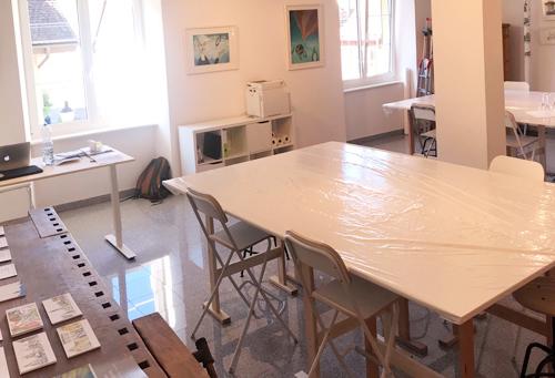 AtelierGalerie in Bremgarten Zeichnen und Malunterricht Leitung Susanne Brem