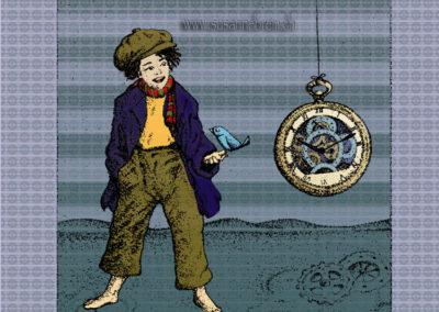 Kind mit Uhr