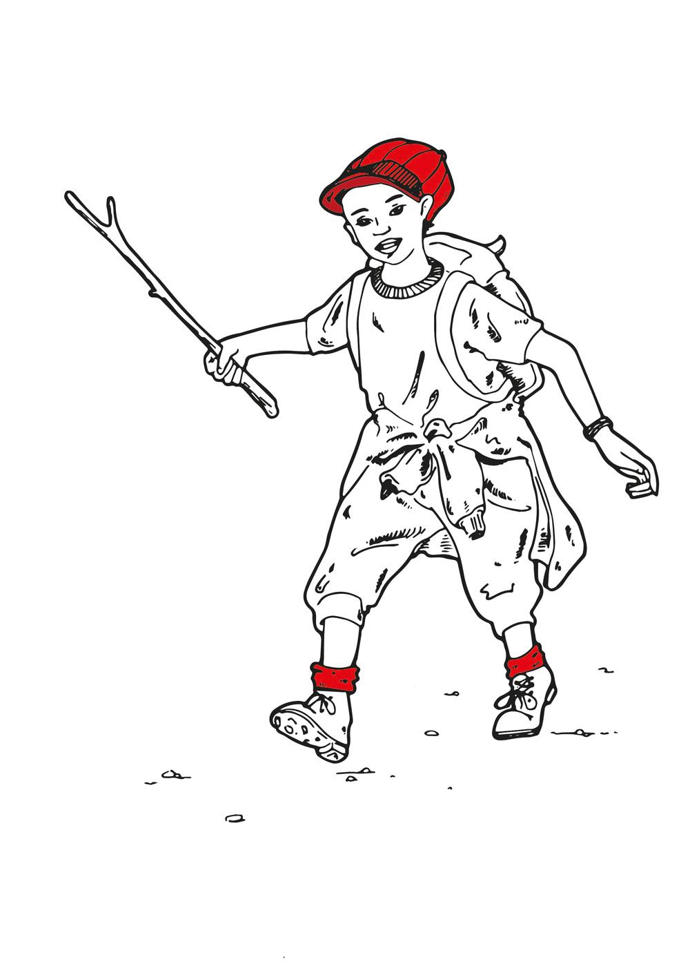 Sentiero delle Leggende Illustrazioni Susanne Brem Legendenpfad val Verzasca