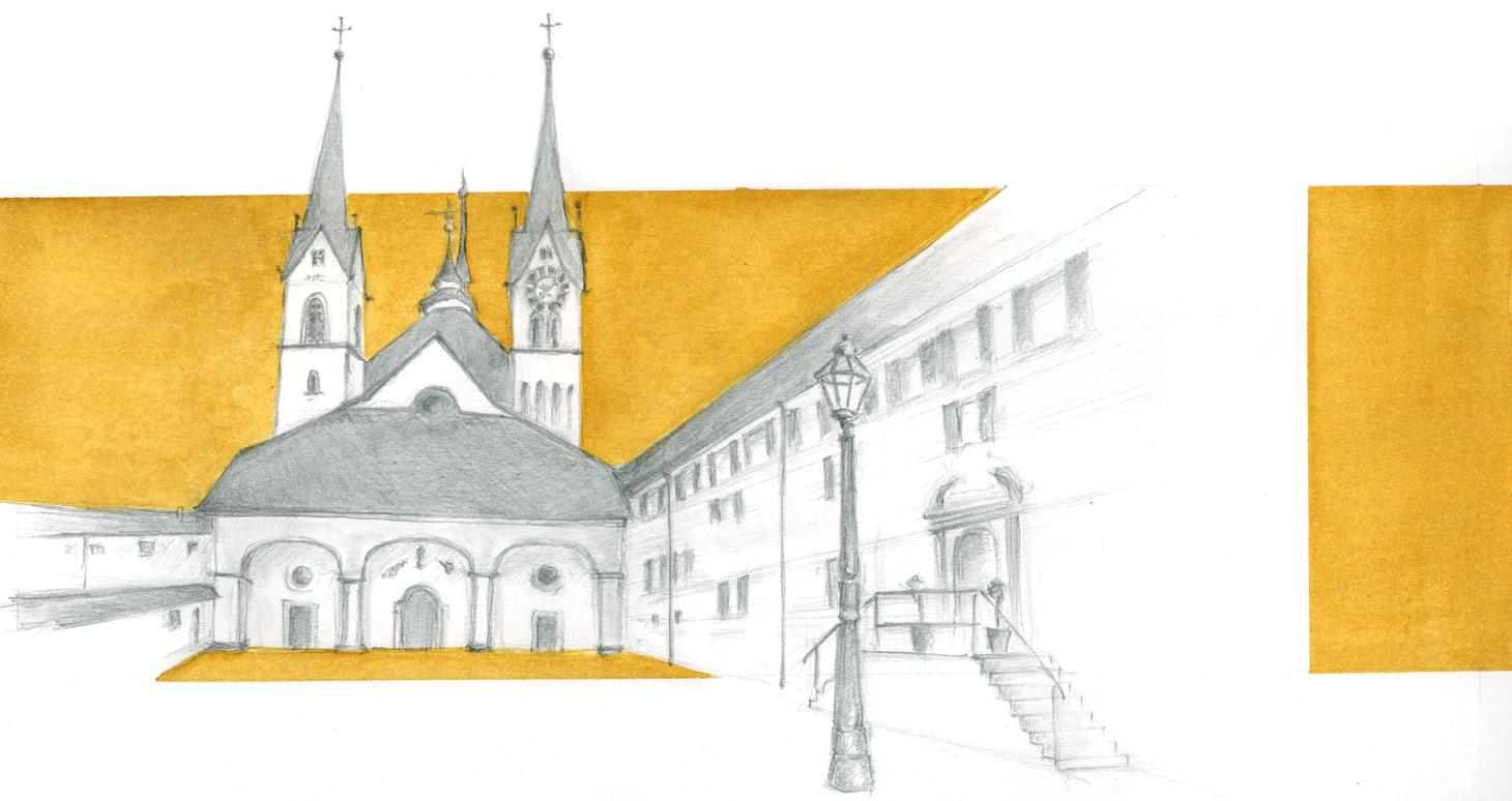 Kloster-Muri-Zeichenkurse-Volkshochschule-Susanne-Brem