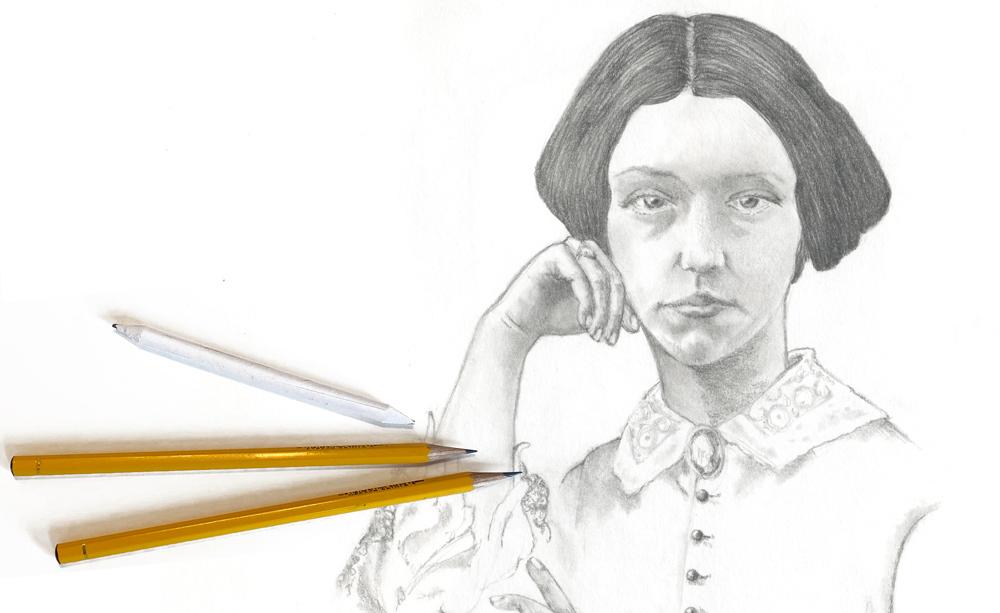Portrait zeichnen Kurs Vhs bremgarten Leitung Susanne Brem