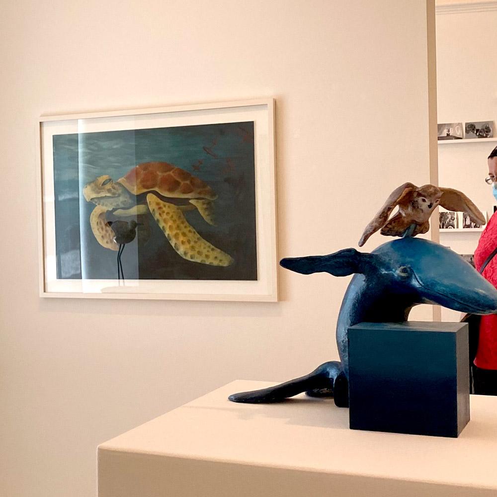 Murikultur Ausstellung im Singisenflügel