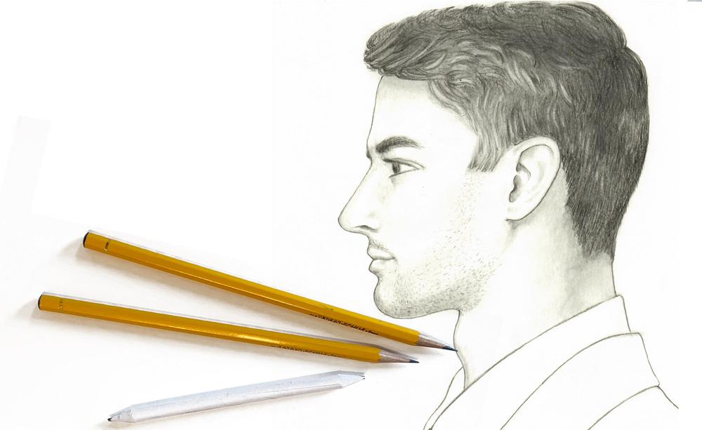 Zeichenkurs, Portraitzeichnen zeichnen Kurs Leitung Susanne Brem