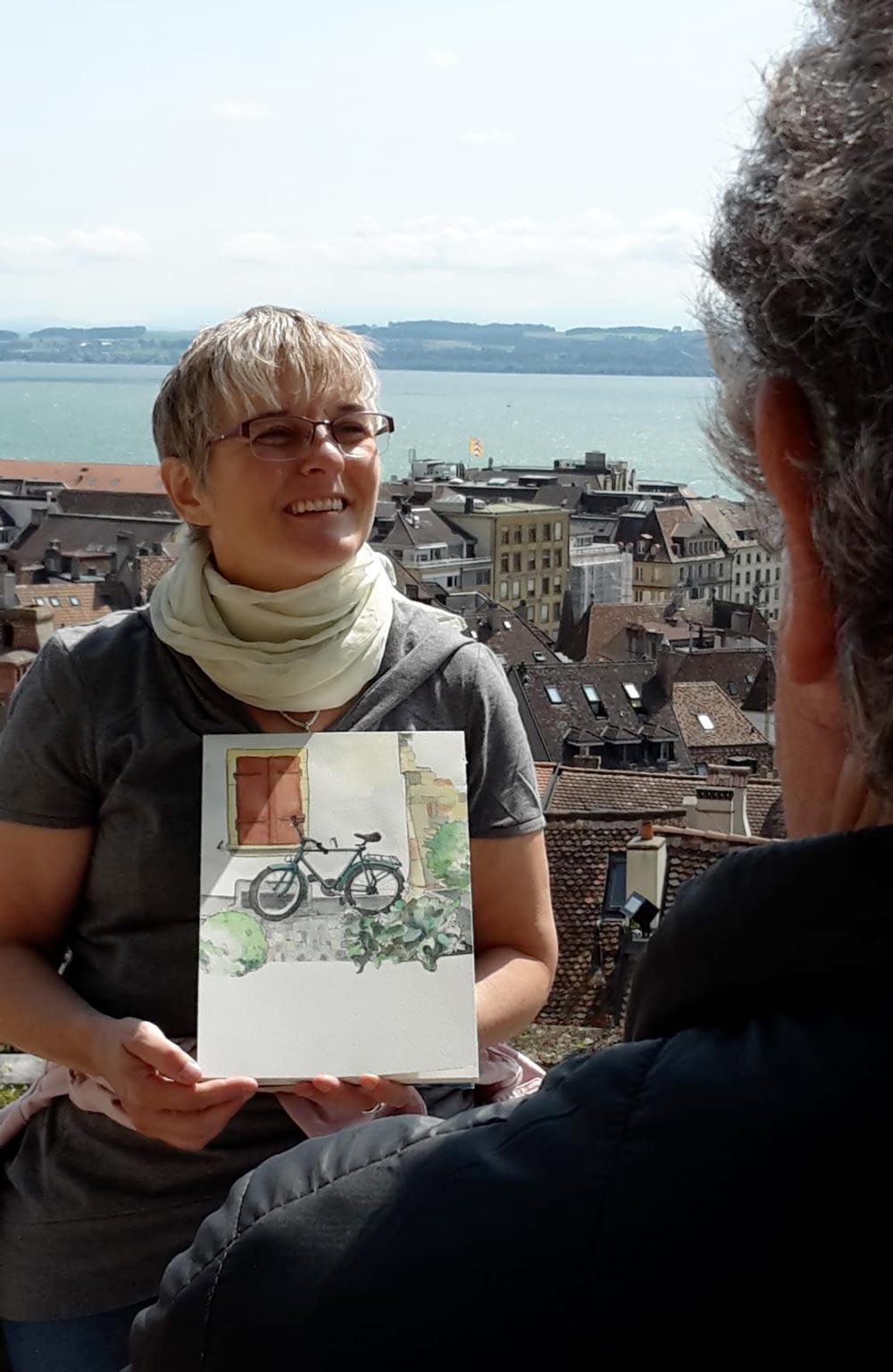 Mit Baumeler Reisen unterwegs in Neuenburg und in Murten Leitung Susanne Brem